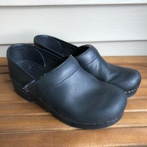 Dansko Professional Oiled Leather Clogs
